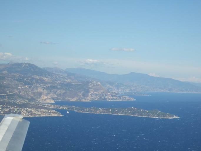 Nizza von oben 19.4.2008