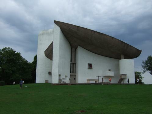 Ronchamp Notre Dame du Haut Le Corbusier 1950