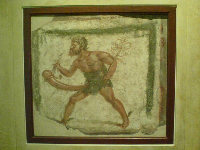 Wandmalerei Priapos