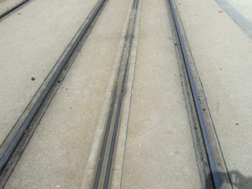 Bordeaux Strassenbahn - Schienen