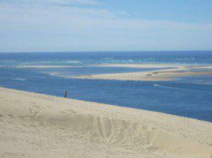 Dune du Pilat - Ausblick auf die Banc d'Arguin