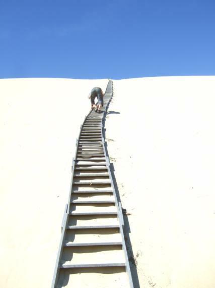 Aufstieg auf die Dune du Pyla Pilat