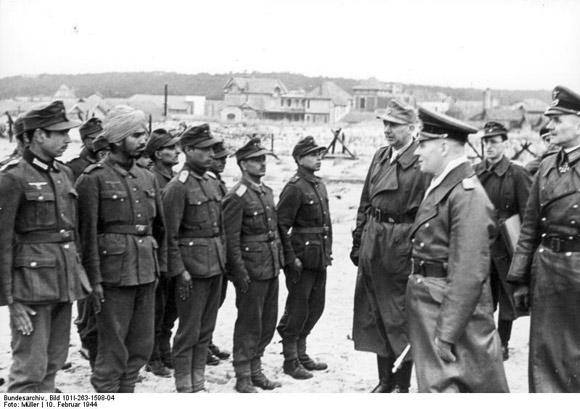 Lacanau in der NS Zeit - 10.2.1944: Feldmarschall Rommel besucht Lacanau(Photo: Bundesarchiv)