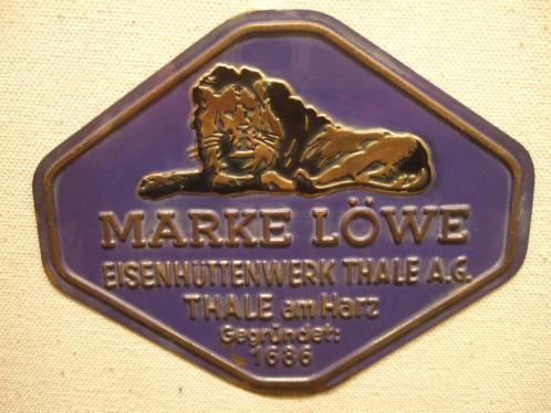 'Marke Löwe' - Eisenhüttenwerke Thale