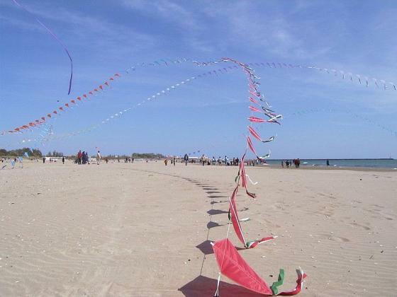 Strand von Cap d'Agde (Foto: Alex Fischer)