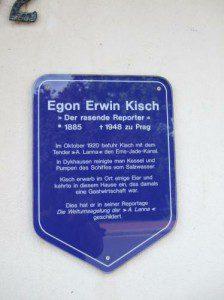 Egon Erwin Kisch in Dykhausen