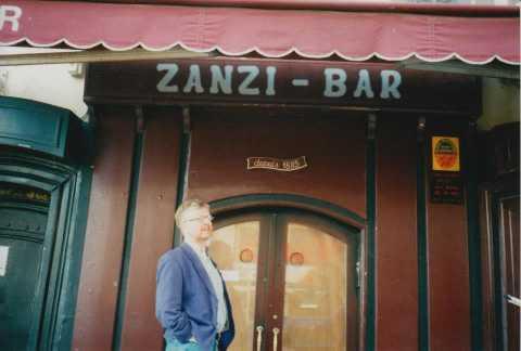 die Zanzi-Bar 1997 (Foto: Stefan M. Weber)