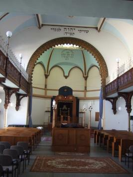 Lübeck Synagoge Innenraum