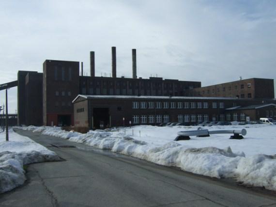 ehemaliges Kraftwerk - Sitz des Historisch-Technischen Informationszentrums
