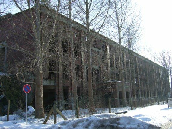 Ruine des Sauerstoff-Werks