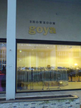 ehemaliger Goya-Showroom