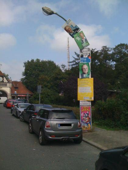Wahlkampf - Overkill