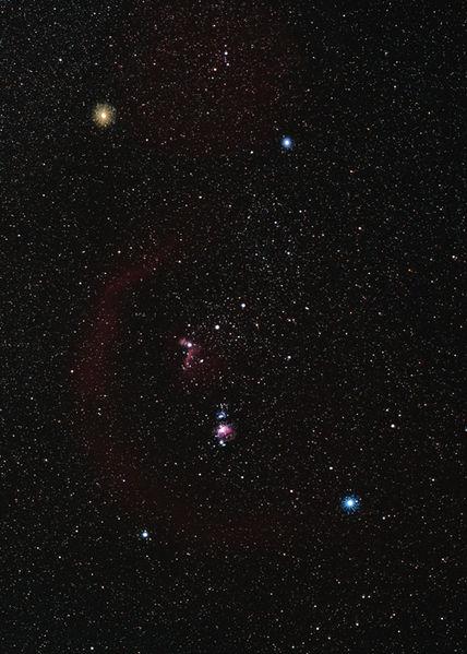 Sternenhimmel (Orion, Foto: TwTunes)