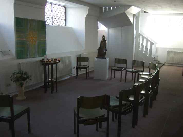 Barlach Ratzeburg St. Petri Lehrender Christus - Positionierung