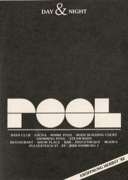 Anzeige für die 'Pool Sauna', 1982