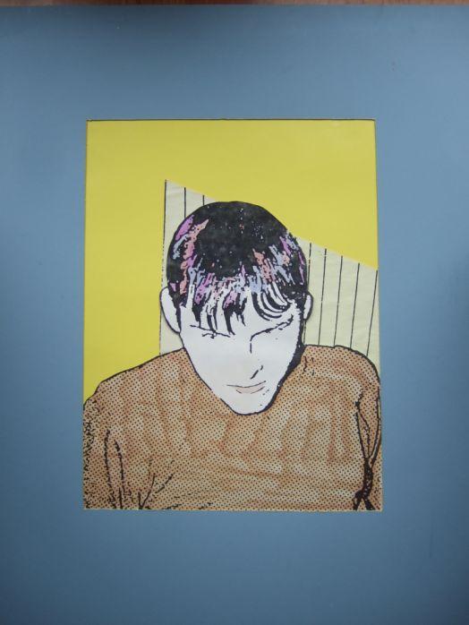 Frank (Selbstbildnis; Copyart, 1981)