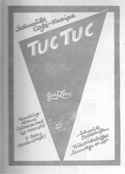 Café Tuc Tuc (Reklame, 1981)