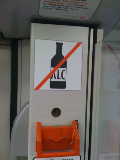 Alkoholverbot HVV