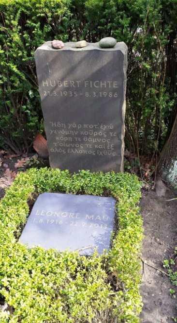 Grab Hubert Fichte Leonore Mau