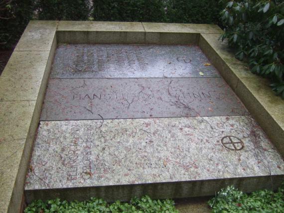 Hans Henny Jahnn Grab Hamburg-Nienstedten