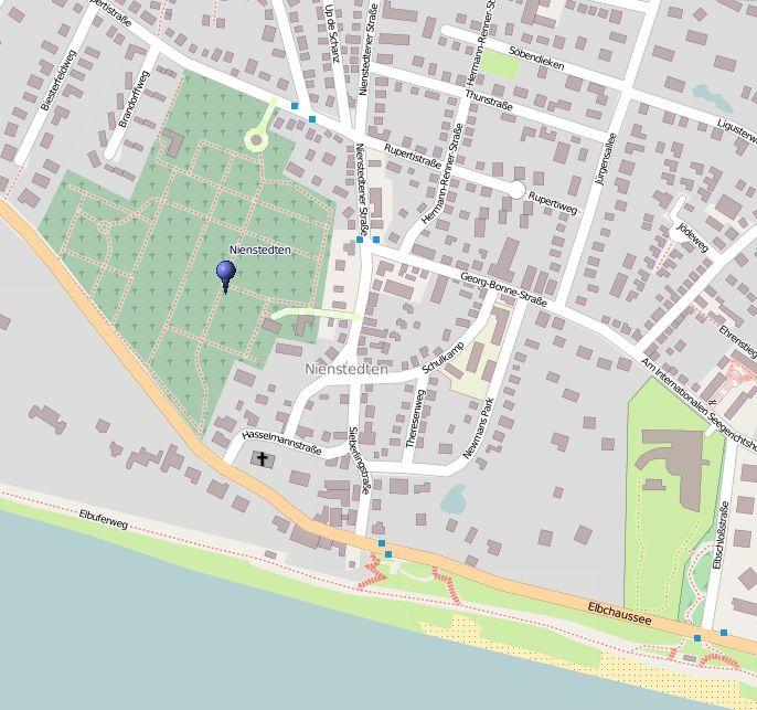 Grab Hans Henny Jahnn Lageplan (Daten von OpenStreetMap - Veröffentlicht unter CC-BY-SA 2.0)