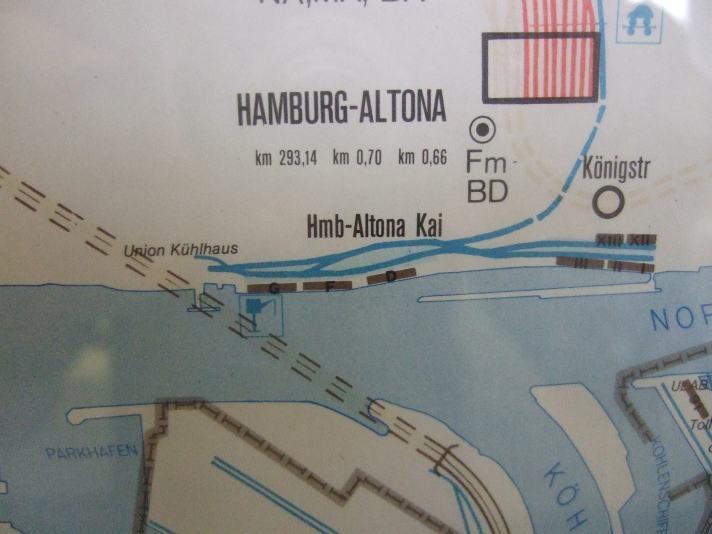 Schienenanlagen Hafenbahn Altona