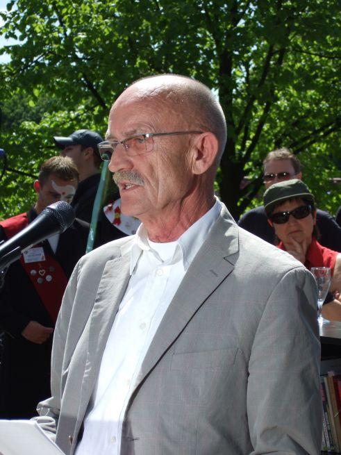 Magnus Hirschfeld Ufer Einweihung Rede Prof. Martin Dannecker