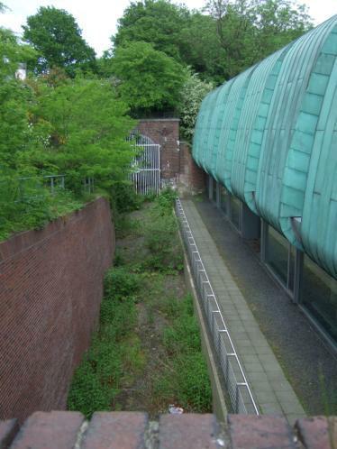 Schellfischtunnel, Einfahrt Hafen Altona