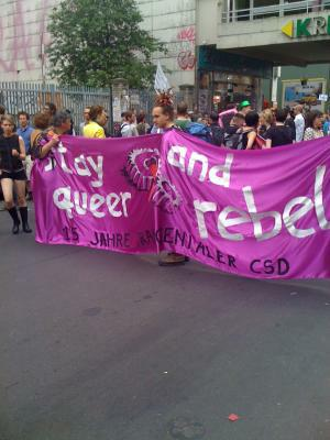 tCSD 2012 - stay queer and rebel