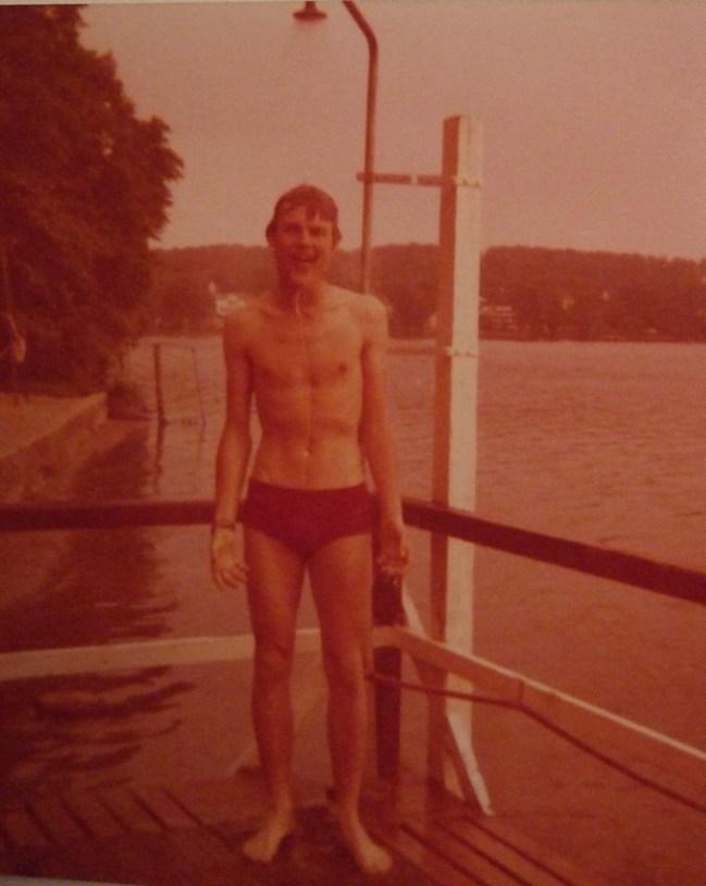 Ulli 1977, in der Nähe von Bad Segeberg