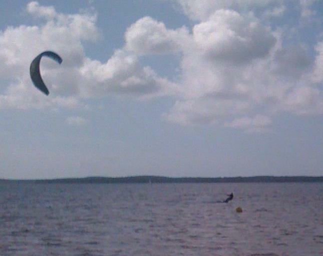 Kite Surfer, Lacanau Lac