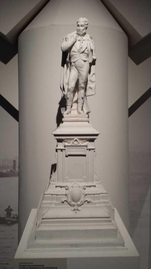 Bordeaux pont de Pierre, Modell eines (nicht realisierten) Denkmals für Piere Balguerie-Stuttenberg