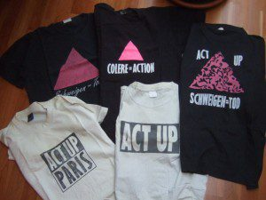 ACT UP - T-Shirts, Anfang 1990er Jahre