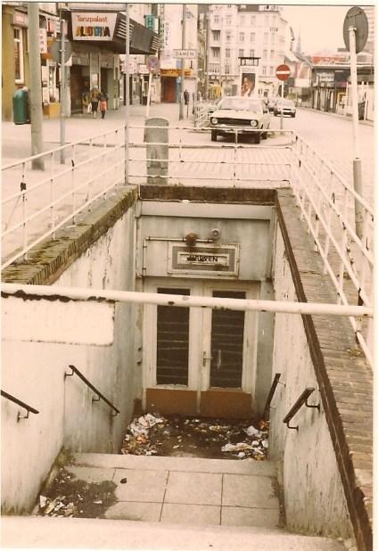 Die geschlossene Klappe auf der Reeperbahn, Frühjahr 1986