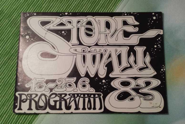 Stonewall 1983 Programmheft