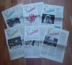 Virulent (Bundesweite Positivenzeitung) 1991 / 92