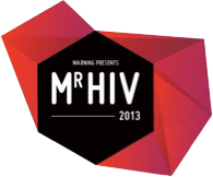 Mr. HIV 2013 (Logo: The Warning Brüssel)