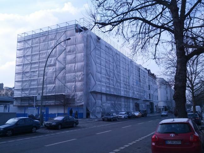 Schwules Museum Berlin, neues Haus ab 2013 in Umbau (Zustand Februar 2013)