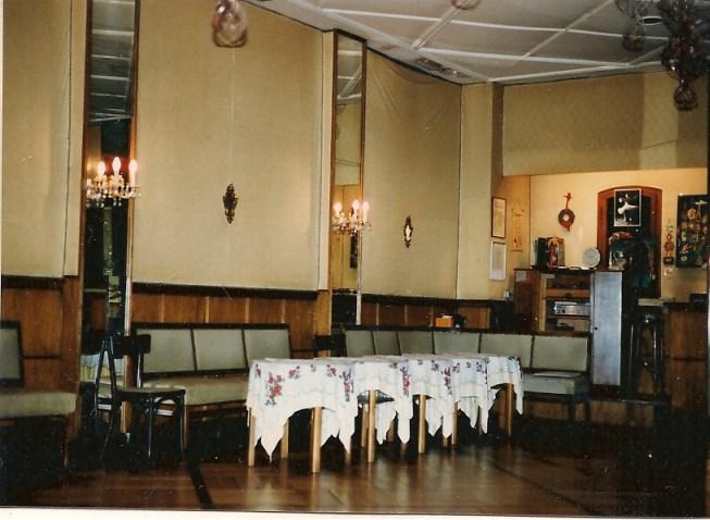 SCHULZ bei Übernahme 1984, vorderer Saal