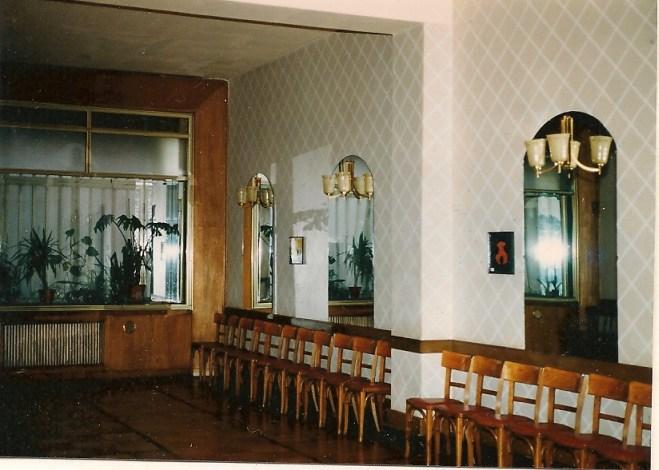 SCHULZ bei Übernahme 1984, Saal
