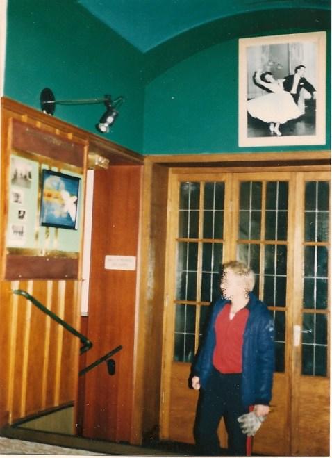SCHULZ bei Übernahme 1984, Tür zum zweiten Saal