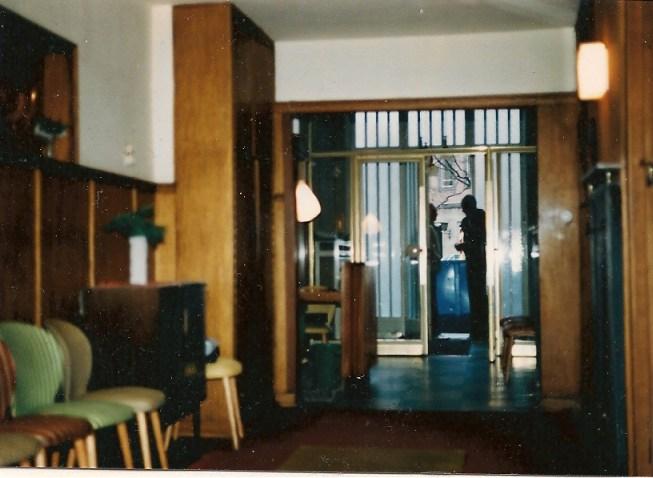 SCHULZ bei Übernahme 1984, Blick zur Eingangstür