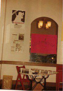 SCHULZ Eröffnung am 16. März 1985, Markt der Projekte