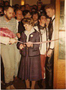 SCHULZ Eröffnung am 16. März 1985, Schlüsselübergabe