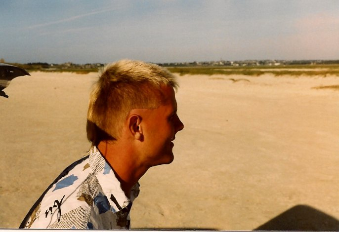Ulli, Sommer 1987, in der Bretagne