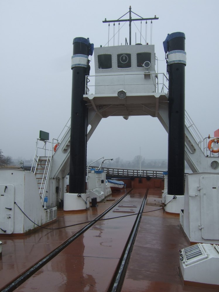 Eisenbahndampffährschiff Stralsund