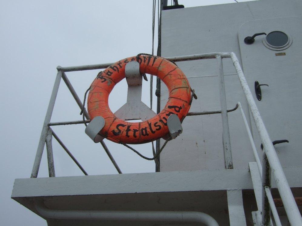 Eisenbahn-Dampffährschiff Stralsund