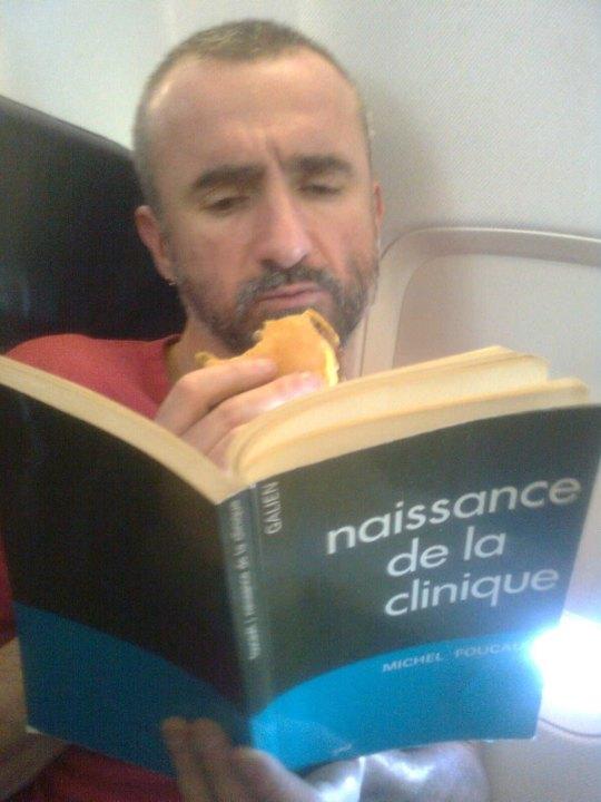 Laurent Gaissad von Warning Bruxelles, einer der Initiatoren von ' Mr. HIV 2013'