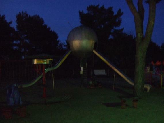 Sputnik by night