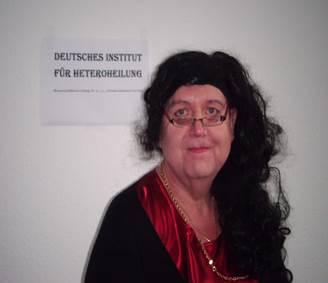 Dr. h. c. Christel Rebecca von Holdt, DIHH: Heilung von Heterosexualität ist möglich !